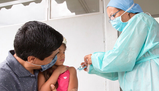 Concerns about risk of exposure to COVID-19 impact immunization services in the Americas